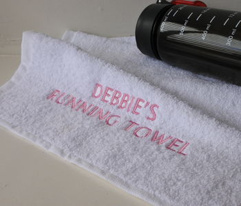 Personalised Running Towel