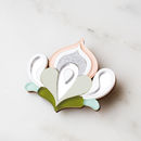 Lotus Brooch