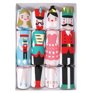 Box Of Eight Nutcracker Themed Crackers
