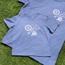 Adult And Child Cycling Parts T Shirts, Father's Day