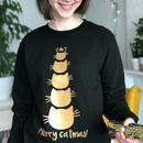 Merry Catmas Novelty Christmas Jumper For Cat Lovers