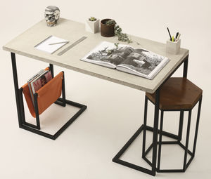 Concrete Desk - office & study