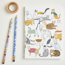 A5 Cradle of Crafty Cats Notebook