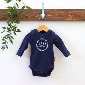Personalised Baby Shower Body Vest