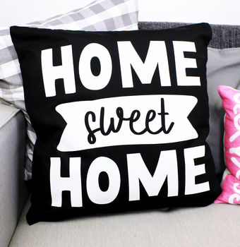 'Home Sweet Home' Cushion Cover