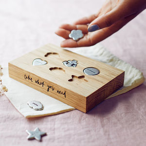 'Take What You Need' Pocket Tokens Set - gifts for her