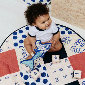 Organic Cotton Spot Print Patchwork Play Mat - view all new
