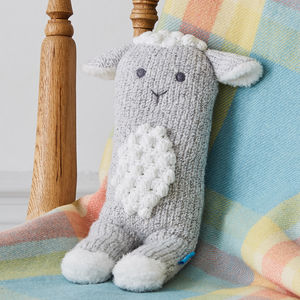 Super Soft Leila Lamb Knit Toy - gifts for babies