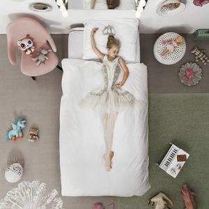 Snurk Children's Ballerina Duvet Bedding Set