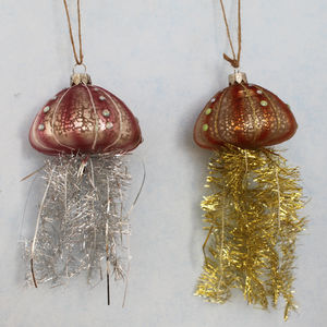 Kitsch Jelly Fish Tassel Decoration