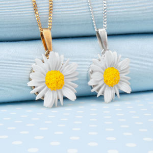 Daisy Pendant Necklace - necklaces & pendants