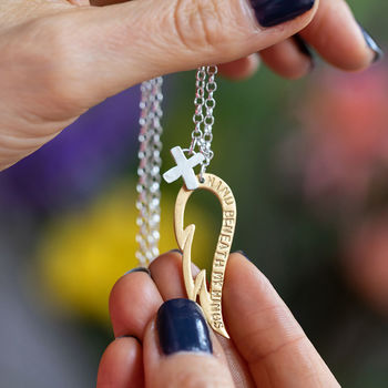 Personalised 'Wind Beneath My Wings' Necklace