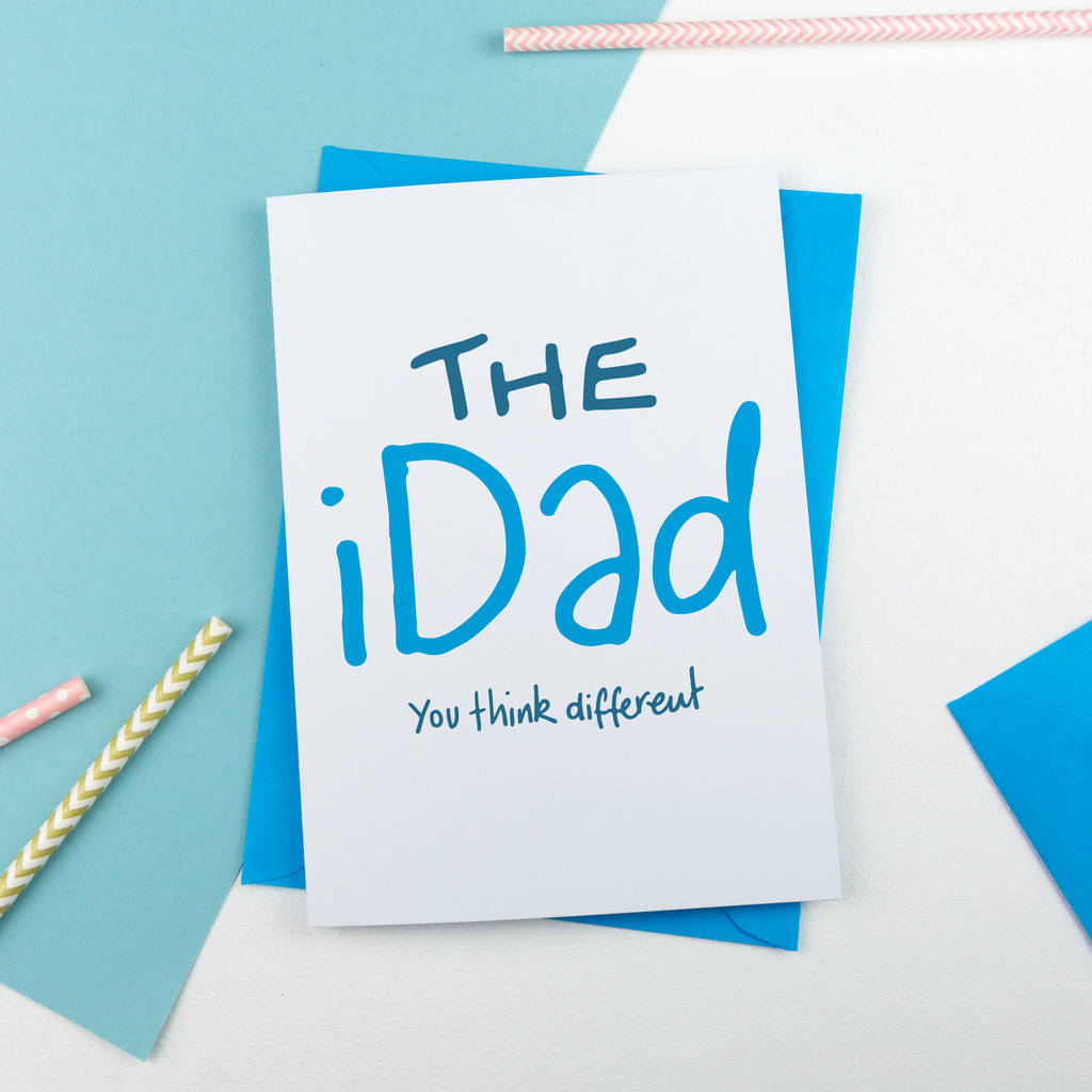The I Dad Father's Day Card