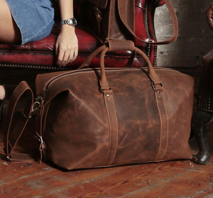 Urban Large Leather Holdall