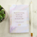 Literature Pocket Notebook Louisa May Alcott Quote