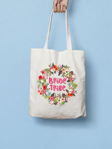 Bride Tribe Bridesmaids Tote Bag - hen party ideas