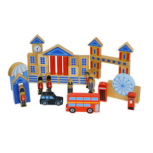Award Winning London Building Blocks - traditional toys & games