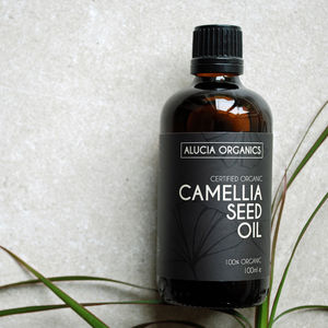 Organic Camellia Seed Oil - massage & aromatherapy