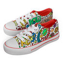 Comic Pattern Colour In Children's Shoes