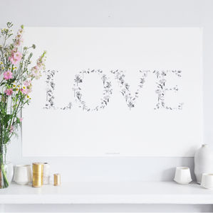Love Poster - drawings & illustrations