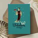 60th Birthday Card For Her 'Fabulous 60'