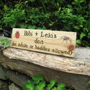 Children's Outdoor Garden Signs