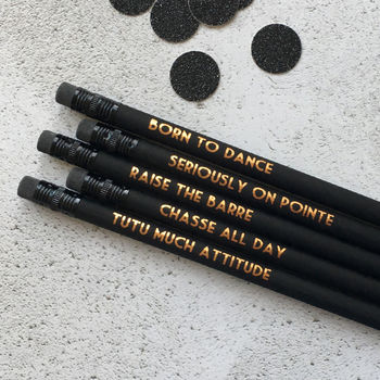 Ballet Pencil Set: Raise The Barre