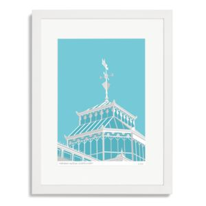 Horniman Museum Conservatory Art Print - drawings & illustrations