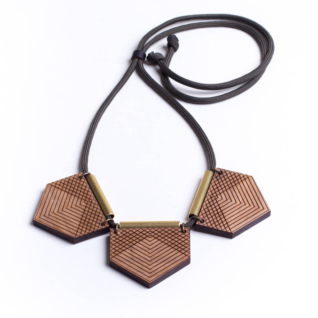 Trio Geo Necklace