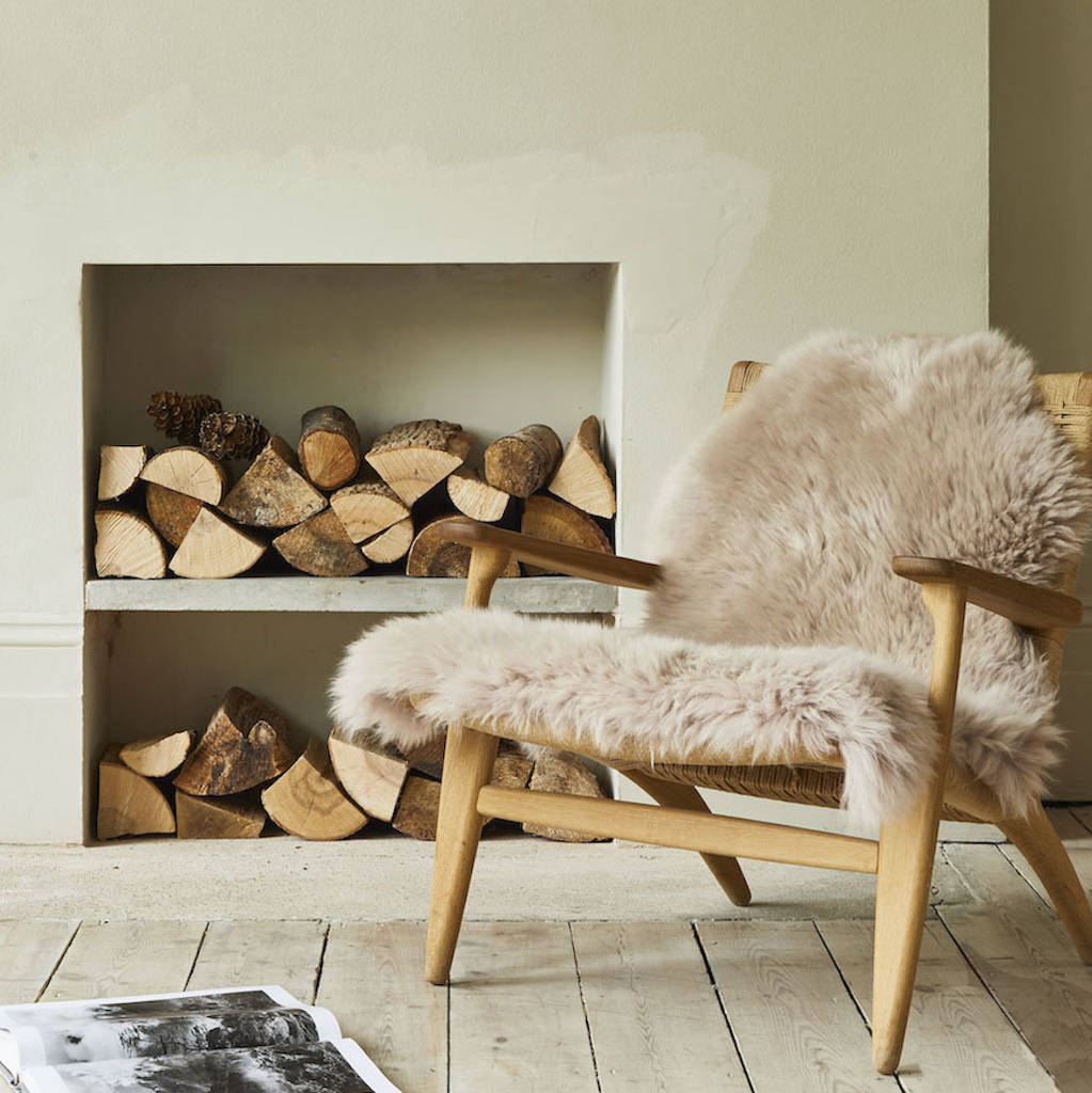 Sheepskin Rug Various Colours By Idyll Home