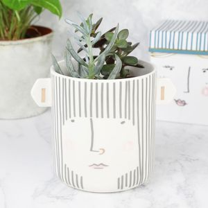 'Over The Moon' Lady Planter