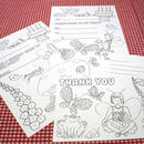 Colour In Invitation Pack