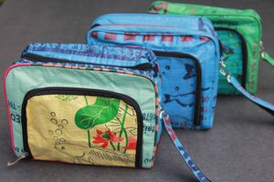 Recycled Wash Bag - make-up & wash bags