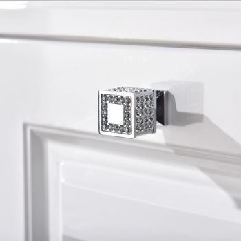 Cabinet Door Knob With Swarovski Elements