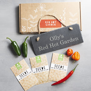 Red Hot Chilli Garden Gift - gifts for fathers