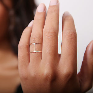 Cage Ring - contemporary jewellery