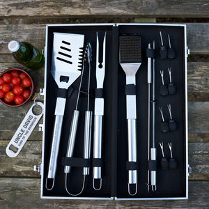 Personalised Barbecue Tool Set - 30th birthday gifts