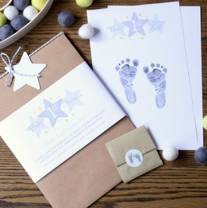 Baby's First Christmas Inkless Hand And Footprint Kit