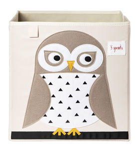 Neutral Animal Storage Box - children's furniture