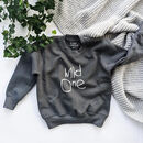 Hand Dyed 'Wild One' Children's Jumper