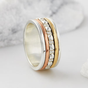 Maharani Zen Spinning Ring - rings