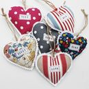 Personalised Heart in all colours