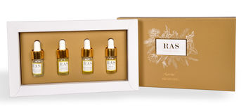 Aroma Therapy Essential Oil Miniatures Gift Set