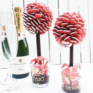 Haribo Heart Sweet Tree Personalised - chocolates & confectionery