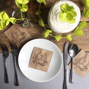 Wild Flower Wedding Seed Favours - gifts for him