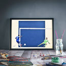 He's Done It : Chelsea Print