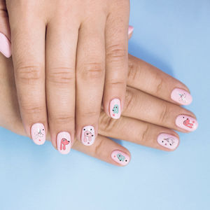 Dog Puppy Party Nail Sticker Gift - nail care