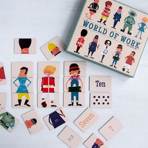 World Of Work Mix And Match Game - winter sale