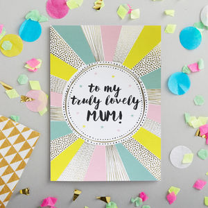 Mum Card - birthday cards