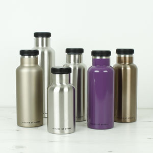 Insulated Stainless Steel Bottles - what's new